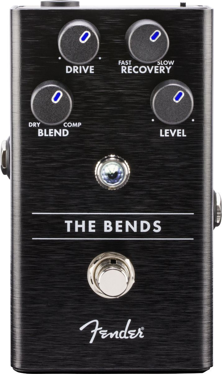 FENDER THE BENDS COMPRESSOR PEDAL woodbrass