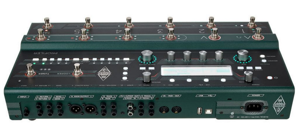 Kemper profiler interface audio