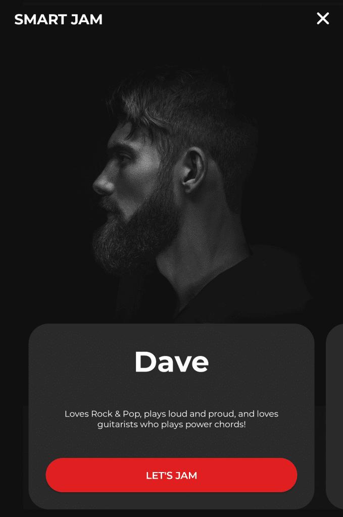 SPARK Smart Jam Dave batteur rock et pop