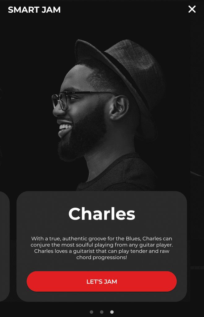 Charles est un batteur de blues